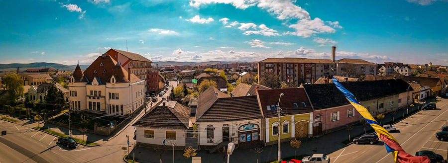 Aiud și zona Aiud văzută de Vlad Dumitru